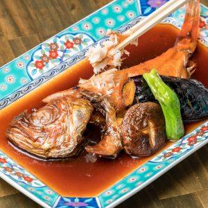 新宿 金目鯛専門居酒屋ぞんぶん 金目鯛の煮つけ