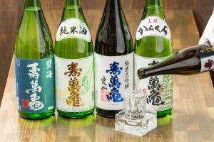 新宿 金目鯛専門居酒屋ぞんぶん 日本酒