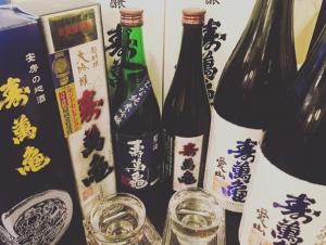 新宿の居海鮮酒屋[ぞんぶん]でしか飲めない稀少な日本酒