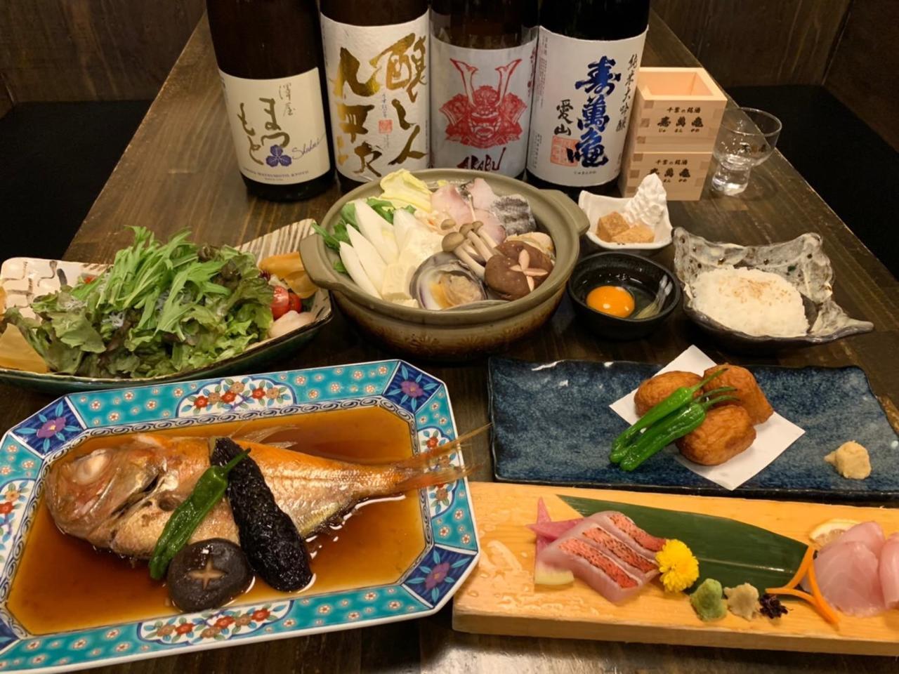 新宿三丁目で金目鯛がコースで味わえる居酒屋【ぞんぶん】