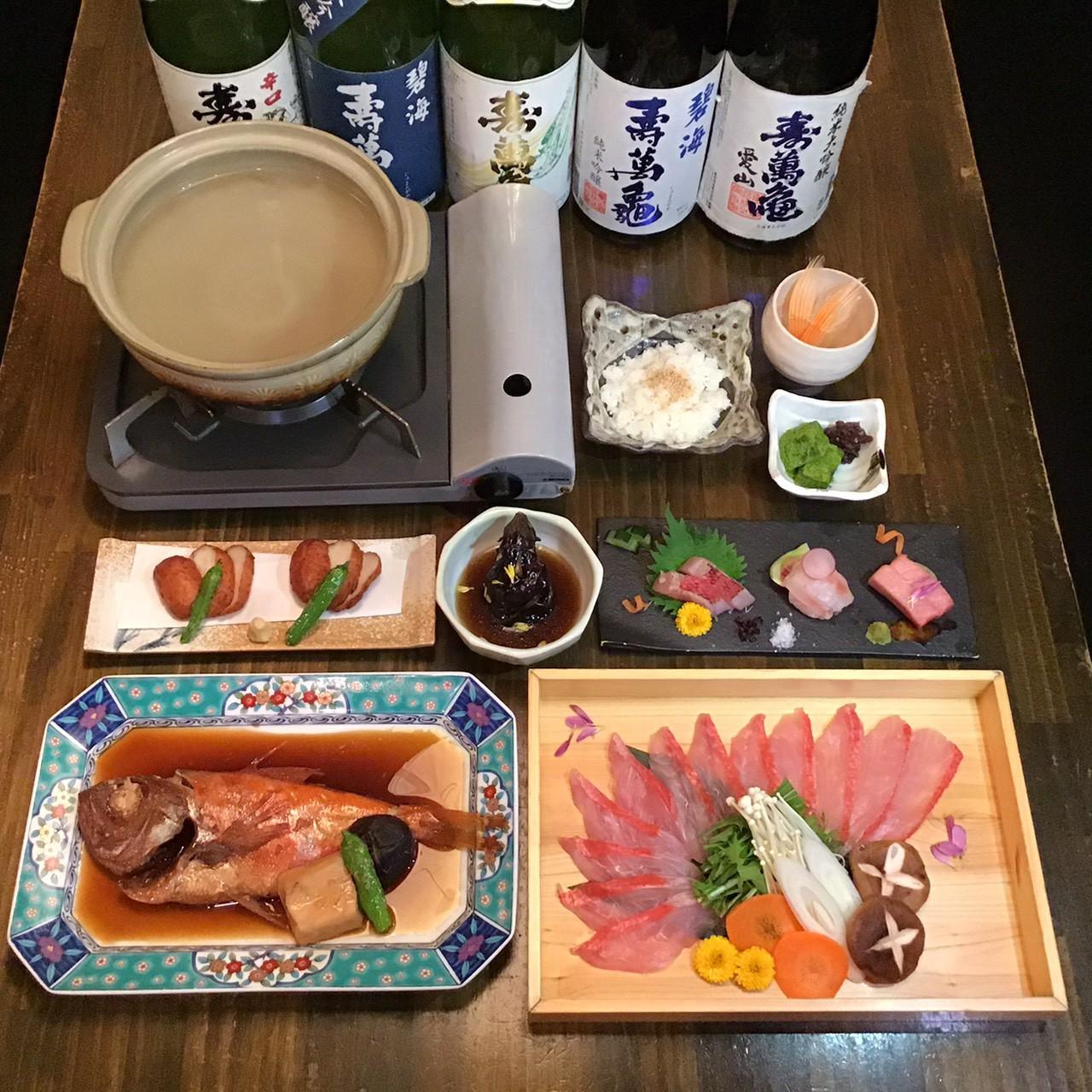 金目鯛料理が豊富に楽しめる新宿三丁目駅近くの居酒屋・ぞんぶん