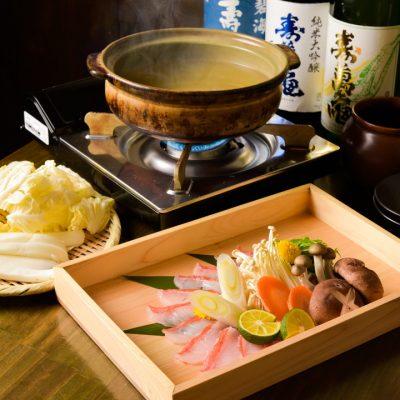 海鮮しゃぶしゃぶが自慢の金目鯛専門居酒屋 鯛しゃぶ ぞんぶん 新宿三丁目店